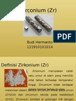 Zirconium (Zr)