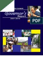 Northern Samar Governor's Report 2001-2010