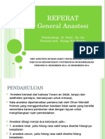 Referat General Anastesi