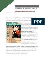 Misericordia y Conflicto de Religiones (Pino de Tormes)