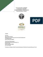 Avondale Guidelines