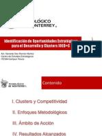 Identificacion de oportunidades estrategicas de desarrollo mediante un enfoque de clusters