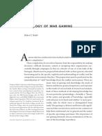Epistemology of War Gaming, The Rubel, Robert C