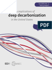 US Deep Decarbonization Policy Report