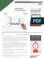 3 Pasos Para Implementar Mapas Mentales en Tu Lectura - Lectura Ágil