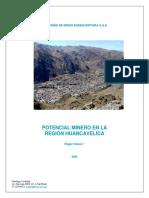 POTENCIAL MINERO DE HUANCAVELICA