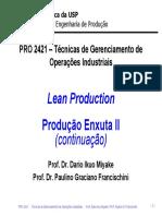 produção enxuta 2