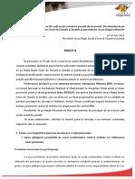 Minuta Intalnire Practica Neunitara Procurori Sefi Sectie UP 14-15 Mai 2015