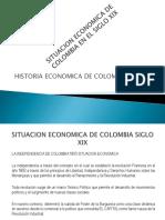 SITUACION ECONOMIA EN COLOMBIA SIGLO 21