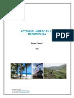 POTENCIAL MINERO DE PIURA