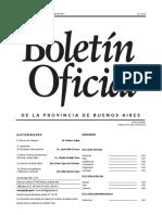 Boletín Oficial de la Provincia de Buenos Aires