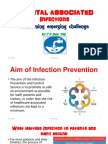 HOSPITAL ASSOCIATED  Infections overcoming emerging challenge   by Dr.T.V.Rao MD