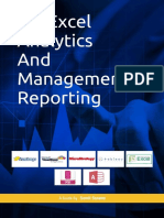 MS Excel Analytics and Management Reporting