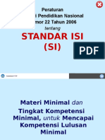 Standar Isi SD