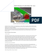 Overland Conveyor Bulk Flow Analyst 15