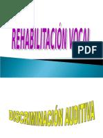 Rehabilitacion Vocal