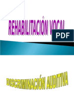 Rehabilitacion Vocal