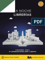 La Noche de Las Librerías 2016