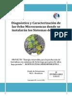 Diagnostico y Caracterizacion Microcuencas