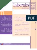 Los Derechos Fundamentales en el Trabajo