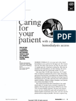 Caring for Your Patient With Hd Access