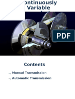 Countinous Variable Transmission