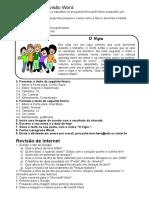 Exercício para Revisao de word e internet.doc