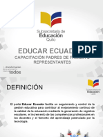 Educarecuador Capacitacion Padres de Familia o Representantes