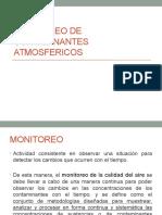 Monitoreo de Contaminantes Atmosfericos
