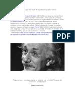 El Acertijo de Einstein Que Sólo El 2