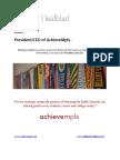 Executive Position Profile - AchieveMpls - President-CEO