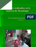 Trabajos realizados en la materia de Tecnología