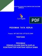 Pedoman Tata Kerja Bpmigas 2009