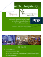 Hospitality Lawyer with a successful case study on green hotel development and renovation – The Orchards