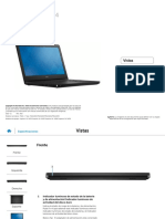 Inspiron 14 5459 Laptop Reference Guide Es Mx
