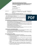 Informe Andas Chico - Yarumayo