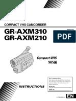 JVC GR-AXM210U - LYT0252-001C