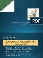 Accidentes e intoxicaciones pediatricas