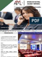 Catalogo OdeCCAM 2016