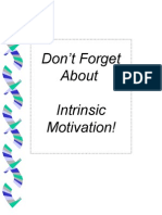 PROFESIONALISME GURU- DON'T FORGET ABOUT INTRINSIC MOTIVATION