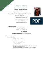 Resumen Curricular Noherl