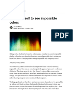 Train Yourself to See Impossible Colors(PDF-Cópia de um site)
