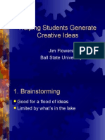 PROFESIONALISME GURU- HELPING STUDENTS GENERATES CREATIVE IDEAS