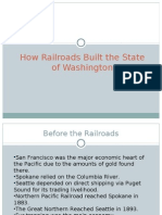 Railroads and impact on washington