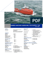 Anchor Handling Tug Supplier 150 DS