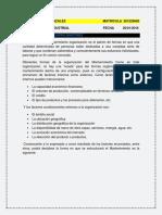 Estructura Del Departamento de Mantenimiento