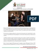2014-11-11 Entrega Presidente Municipal Sillas de Ruedas a Personas Con Discapacidad