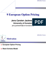 09 European Option Pricing With Solutions
