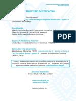 Comunicación Oral y Escrita en Lengua Originaria Nivel Básico - Aymara 3