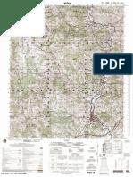 Topografska karta Raske